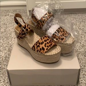 Marc Fisher Shoes - Mark Fisher leopard platform sandals